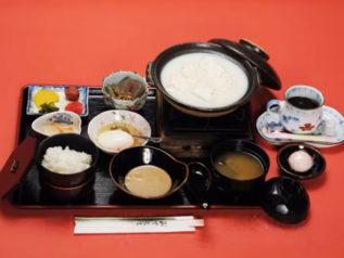 ラドン温泉湯豆腐御膳